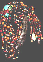 Chinese fish necklace
