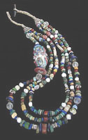 Mali Dig Bead Necklace