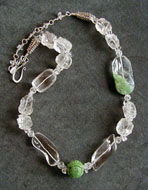 Sea of Green Necklace