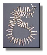 Pearl Tusk Necklace
