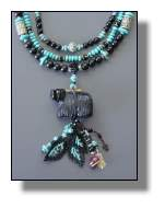 Wooly Bear Necklace