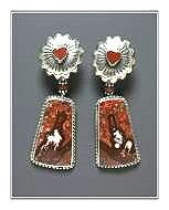 Persian Miniature Earrings