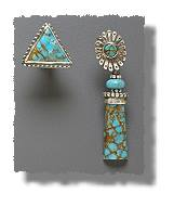 Odd Turquoise Earrings