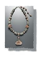 Moroccan Chalcedony Necklace