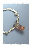 Spessartine Garnet Crystal Necklace