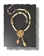 Head Coral Necklace