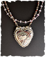 Crazy Heart Necklace