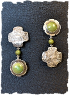 Green Four Winds Earrings