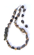 Lizard in Iolite Necklace