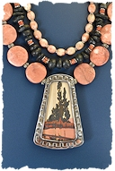 Sunset Cottonwoods Necklace