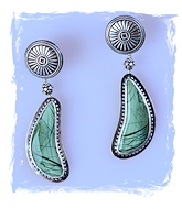 Imperial Green Earrings