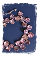 Coppery Mauve Pearls