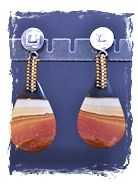 Madagascar Jasper Earrings