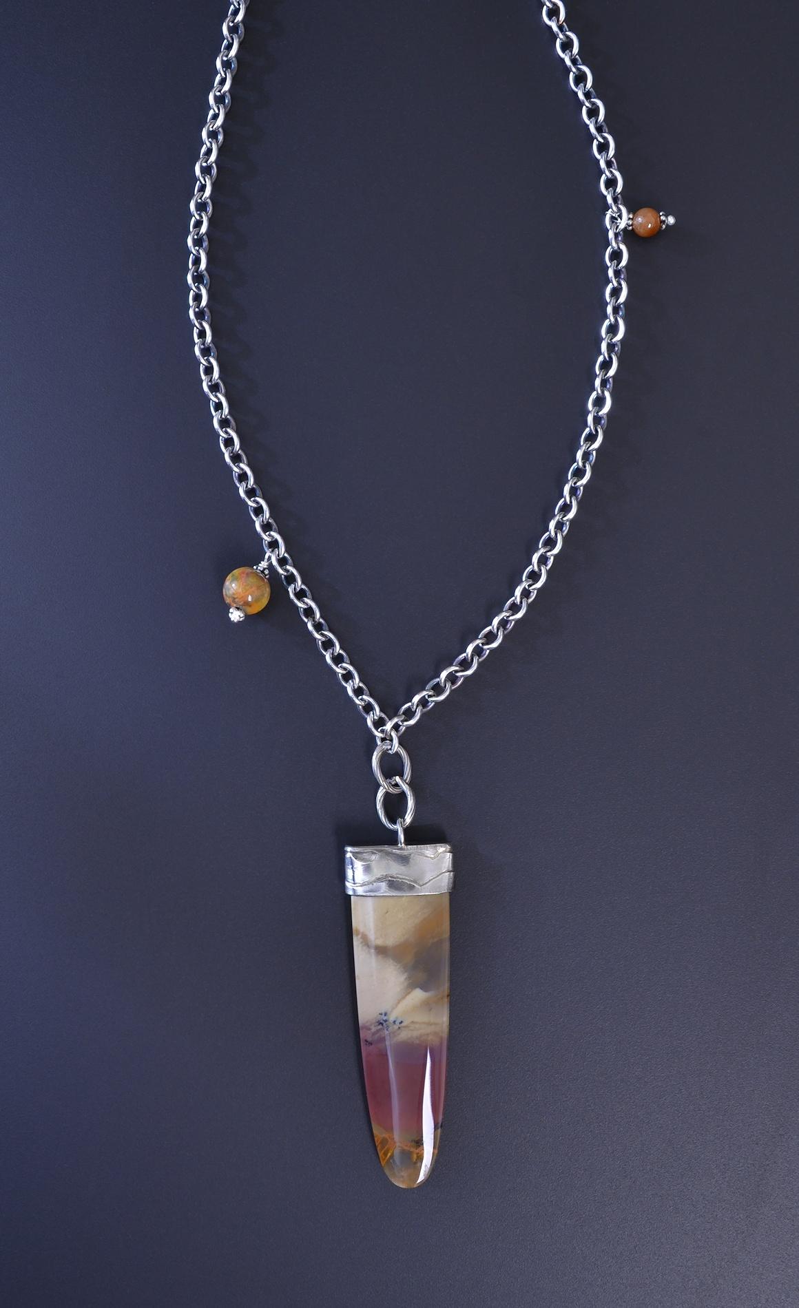 Petrified wood pendant aloadofball Gallery