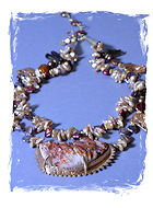 Barite Waves Necklace