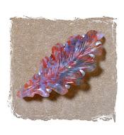 Agate Leaf Brooch
